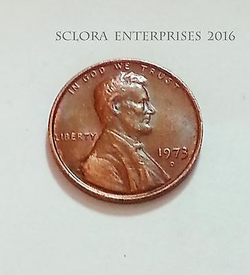 1973 D Lincoln Memorial Cent / Penny  **FREE SHIPPING**