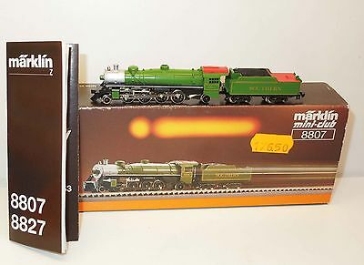 Märklin mini-club 8807 US Dampflok Southern
