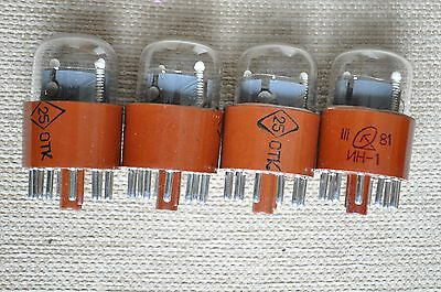 NEW Tested Nixie tubes IN-1 (ИН-1) 1pcs