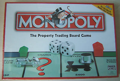 Classic Monopoly Family Board Game Brand New Factory Sealed