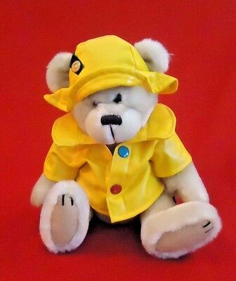 Brass Button Pickford Teddy Bear Harper 1996 Yellow Raincoat Stuffed Toy Animal