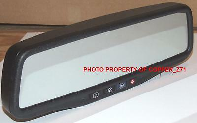 """NEW PRICE! GM Auto dim OnStar Mirror w/3.5"""" BACKUP CAMERA DISPLAY & Video Cable"""