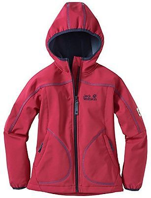Jack Wolfskin giacca in Softshell Whirlwind, da donna Rosso Pale Berry NUOVO