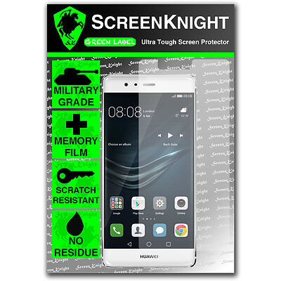 ScreenKnight Huawei P9 FRONT SCREEN PROTECTOR invisible Military Grade shield