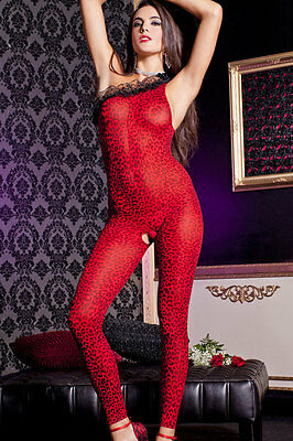 Hot Reizwäsche Fishnet Body Stocking Catsuit Netz Body Unterwäsche |H| 79530