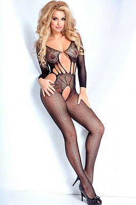 Hot Reizwäsche Fishnet Body Stocking Catsuit Netz Body Unterwäsche |H| 79715