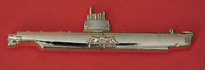 Oberon Class Submarine Lapel Badge With Gold Plating 60Mm Long High Ran