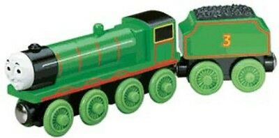 Thomas The Tank Train - Wooden Henry W/tender Learning Curve *2002***new**usa**