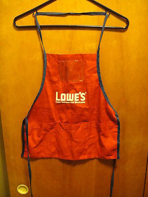 LOWE'S HOME IMPROVEMENT WAREHOUSE ~ Vintage ~ Youth Apron