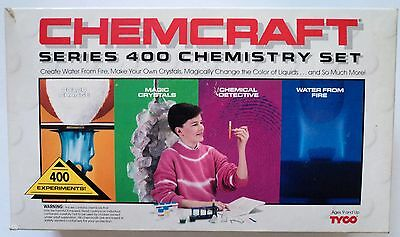 TYCO 1990 Chemcraft Series 400 Chemistry Set: 400 Experiments new in the box