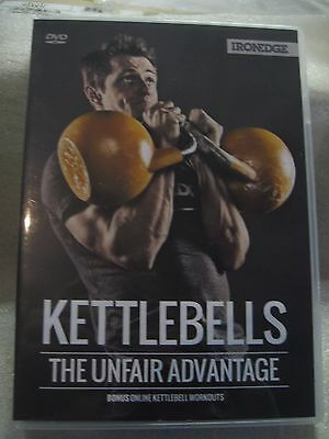 """new"" Weight Training Dvd ""kettlebells - The Unfair Advantage"""
