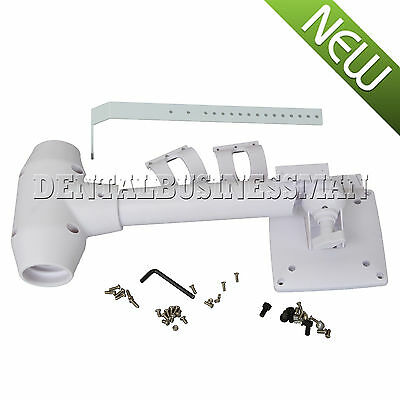 1*Dental Unit Post Mounted LCD Monitor Intraoral Camera Mount Arm Plastic