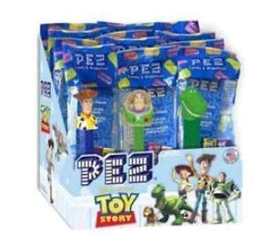 Disney Toy Story PEZ Candy Dispensers 12 Pack Assorted Party Supply Kids New