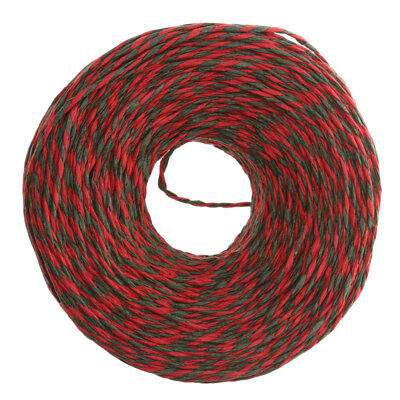 100M Red Green GIFT WRAP CHRISTMAS CANDY BAKERS TWINE PAPER STRING CORD