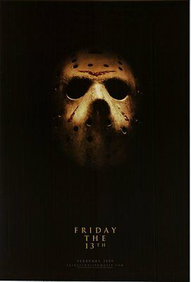 FRIDAY THE 13TH (2009) 11.5x17 PROMO MOVIE POSTER