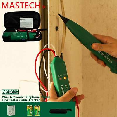 Network Telephone Phone Cable Tracer Toner Tester Wire Tracker Detector