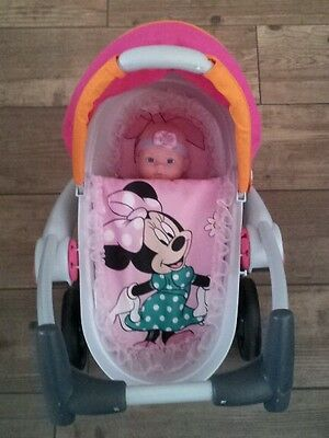 Adorable Dolls Pram Set made to fit the Quinny  prams or very small prams
