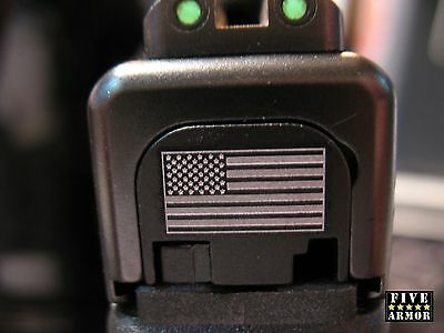 Fixxxer American Flag Slide Cover Plate for Glock Fits all except G35, G43, G42