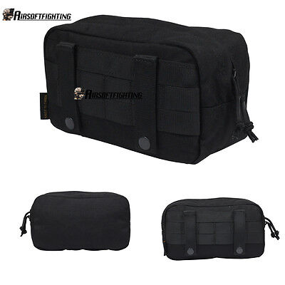 1000D Molle DUMP Magazine Pouch Belt Waist Bag Park for Hunting Paintball Black
