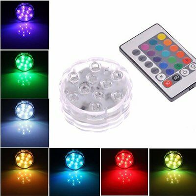 Bright Submersible Light Waterproof Wedding Underwater Mini LED Tea/Candle Light