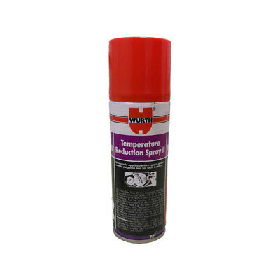 Wurth Temperature Reduction Freeze Spray - Diagnose electrical and engine faults
