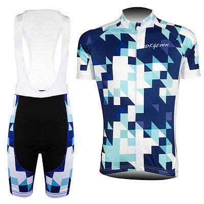 2016 New Mens Bicycle Gear Cycling Jersey Bib Shorts Racing Tops Brace Tights