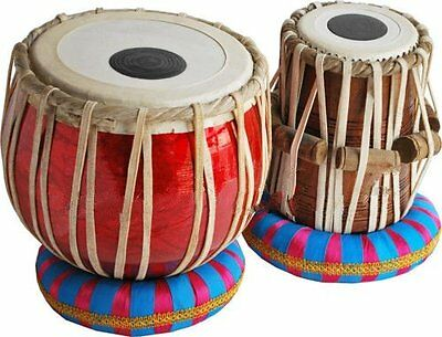 Tabla Drum Set-Student Model-_Shesham Wood Dayan- Hammer/Cushion By Dorpmarets