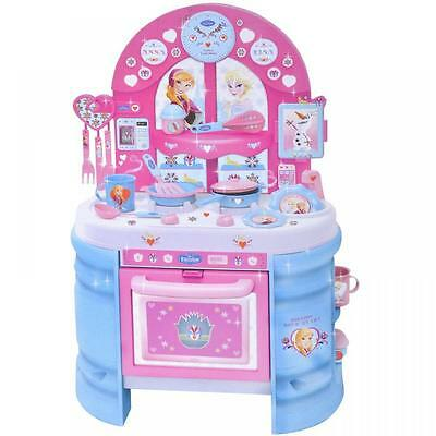 Disney Frozen Large Childrens Kids Pretend Cooker Kitchen Toy Role Play Game Set