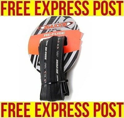 Maxxis Re-Fuse Folding Road Bike Tyre Refuse Express Post