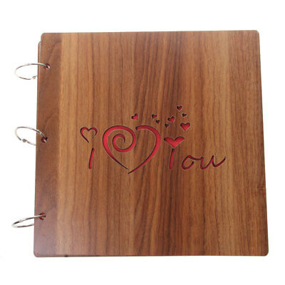 I LOVE YOU Photo Album Scrapbook Diary Gifts Memory Love