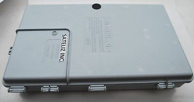 "17""x10""x3"" OUTDOOR CABLETEK ENCLOSURE PLASTIC GRAY CASE UTILITY CABLE BOX MDE-S"