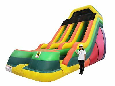 Commercial Inflatable Slide - 20ft Dual Lane Slide - 3 Years Warranty AS3533.4.1