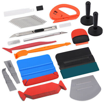 8in1 Squeegee Car Window Tinting Auto Film Install Wrapping Applicator Tools USA