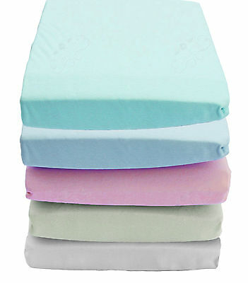 100% Cotton Jersey Stretchy Knit Super Soft Summer Winter Stretch Fitted Sheet
