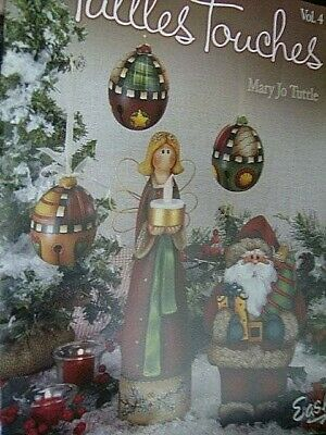 Tuttles Touches Painting Book #4-Tuttle-Angels/Snow Days/Santas/Ornaments/Summer