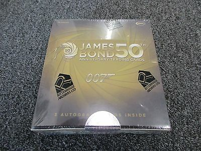James Bond 50th Anniversary Series 1 Trading Cards Factory Sealed Box