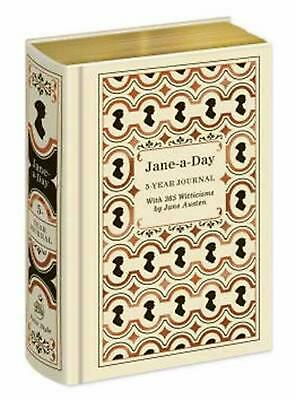 Jane-A-Day: 5 Year Journal: With 365 Witticisms by Jane Austen by Potter Style (