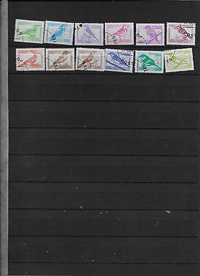 Small collection of Benin Bird Stamps   (lot 2)