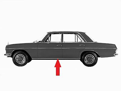 Mercedes W114 W115 Rocker Panel Mouldings Right and Left NEW 1968-1976