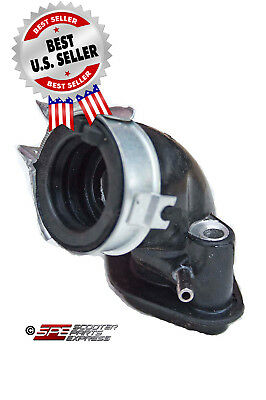 Intake Manifold GY6 50 139QMB Scooter Moped ~ US Seller