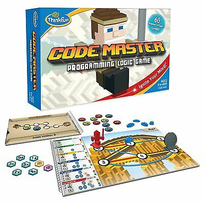 Thinkfun CODE MASTER Programming Logic board game, Coding for Kids FREE SHIPPING