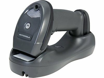 Motorola LI4278 USB Cordless Bluetooth Linear Barcode Scanner Cradle zebra table