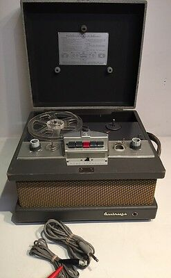 Vintage The Voice Of Music Tape-O-Matic 711-S Reel to Reel Seabreeze Recorder