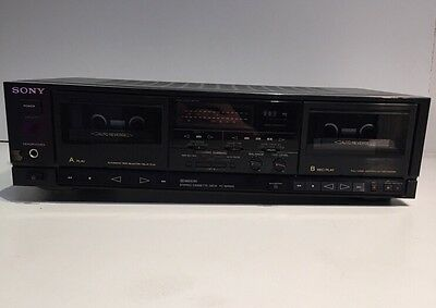 Sony TC-WR610 Full Logic Automatic Tape Selector/Relay Stereo Dual Cassette Deck