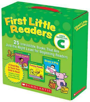 First Little Readers: Guided Reading, Level C: 25 Irresistible Books That Are Ju