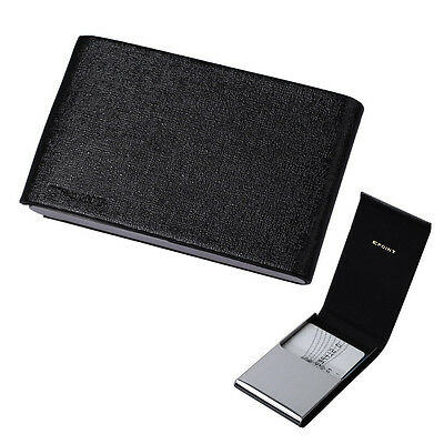 EDC04A01 Black Business For Men Gift Idea Card Holder Leather Card Case Epoint