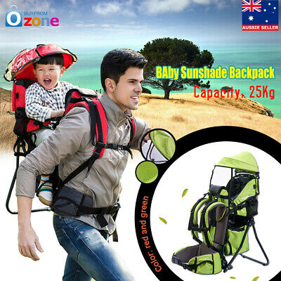 Baby Toddler Backpack Crosscountry Carrier w/Stand Child Kid Sunshade Canopy NEW