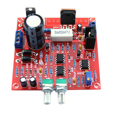 Regulated DC Power Supply DIY Kit 0-30V Continuously Adjustable 2mA-3A Red UK