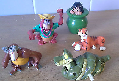 5 x Jungle Book Figures Bundle Ideal Cake Toppers Bullyland