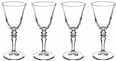 4 x Rayware Avalon Red Wine Goblets Glasses  27cl / 270ml